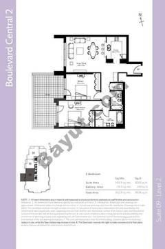 Level 2 - 2 Bedrooms
