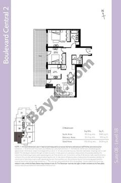 Level 18 - 2 Bedrooms