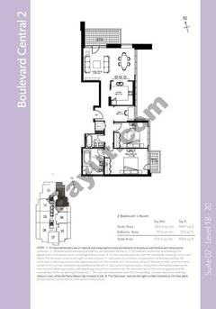 Level 18to20 - 2 Bedrooms