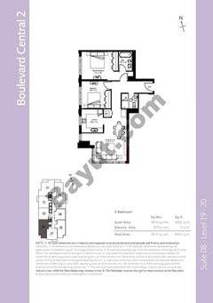 Level 19to20 - 2 Bedrooms
