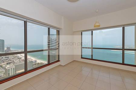 4 Bedroom Flat for Rent in Jumeirah Beach Residence (JBR), Dubai - Full Sea View | Exclusive 4 BR