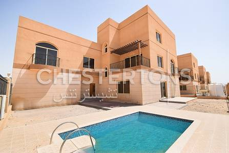 5 Bedroom Villa for Rent in Khalifa City A, Abu Dhabi - Brand  New 5 BR Villa With Private Pool