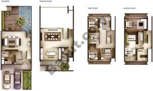 4 Bedroom Type 4C Town Houses
