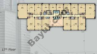 Typical 17th Floor Plan