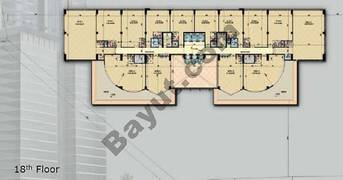 Typical 18th Floor Plan