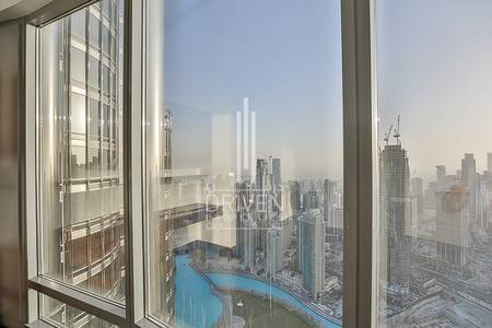 2 Bedroom Flat for Rent in Downtown Dubai, Dubai - One of the most beautiful spacious unit.