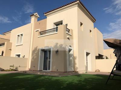 3 Bedroom Villa for Rent in The Lakes, Dubai - Full Maintained | 3 BR + M | Garden View