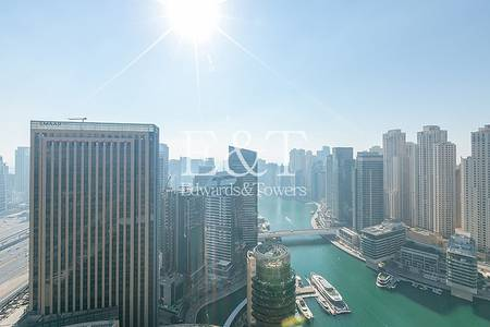 Studio for Sale in Dubai Marina, Dubai - Stunning Marina view|High floor|Vacant