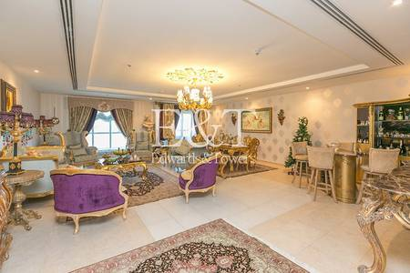 3 Bedroom Apartment for Rent in Dubai Marina, Dubai - Partial Sea View High floor  Corner Unit