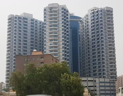 2 Bedroom Apartment for Rent in Ajman Downtown, Ajman - 2 bedroom flat available for rent in falcon tower ajman