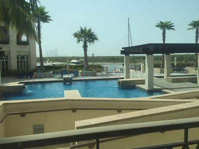 1 Bedroom Flat for Rent in Eastern Road, Abu Dhabi - 1 bedroom with  large balcony Mangrove view