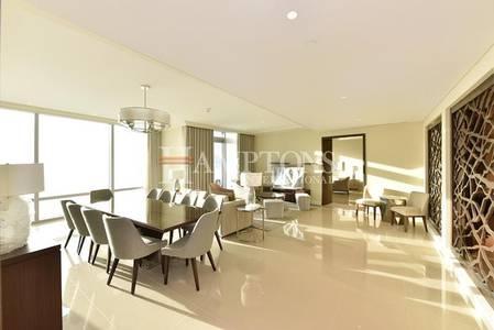 2 Bedroom Apartment for Rent in Downtown Dubai, Dubai - 2 Bedrooms | Furnished | Burj Khalifa View