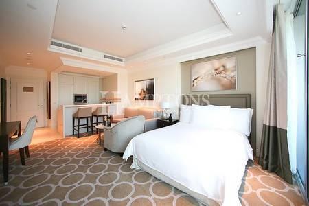 Studio for Rent in Downtown Dubai, Dubai - Spacious Studio in Address | High Floor