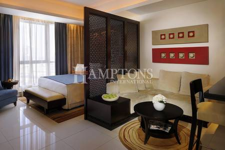 Studio for Rent in Downtown Dubai, Dubai - Luxurious Studio | Furnished & Serviced