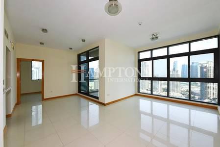 2 Bedroom Apartment for Rent in Dubai Marina, Dubai - Huge 2BR | Full Marina View in Iris Blue