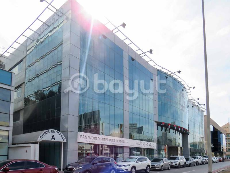 FITTED!!OFFICES FOR RENT NEAR OUD METHA METRO STATION