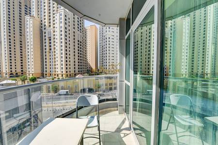 1 Bedroom Flat for Rent in Dubai Marina, Dubai - Fully Furnished 1 Bed with partial Marina View