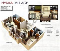 1st Floor 2 Bedroom Villa Type D2