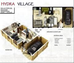 Ground Floor 2 Bedroom Villa Type D2