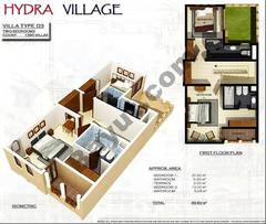 1st Floor 2 Bedroom Villa Type D3