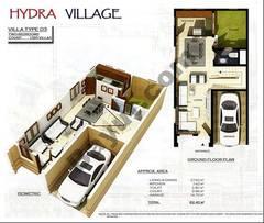 Ground Floor 2 Bedroom Villa Type D3