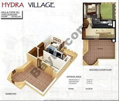 2nd Floor 3 Bedroom Villa Type D1