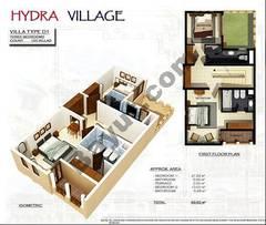 1st Floor 3 Bedroom Villa Type D1