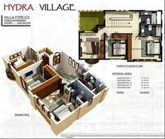 1st Floor 3 Bedroom Villa Type C3