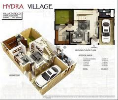 Ground Floor 3 Bedroom Villa Type C3