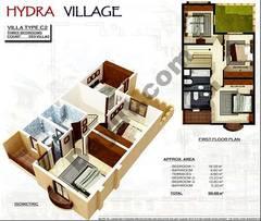 1st Floor 3 Bedroom Villa Type C2