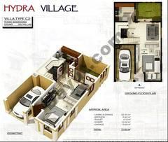 Ground Floor 3 Bedroom Villa Type C2