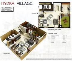 Ground Floor 4 Bedroom Villa Type B1