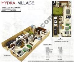 Ground Floor 4 Bedroom Villa Type A2