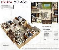 1st Floor 4 Bedroom Villa Type A1