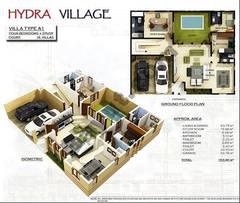 Ground Floor 4 Bedroom Villa Type A1