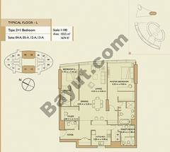 2 Bedrooms Apartment 2