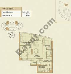 2 Bedrooms Apartment 3