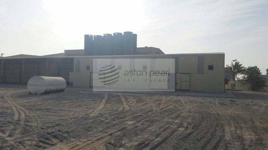 Plot for Rent in Airport Street, Abu Dhabi - ICAD1-5 MW-Factory Land for Chemical Manufacturing