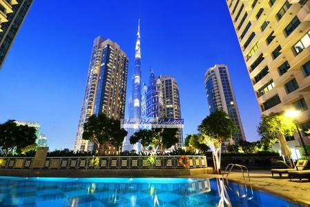 Studio for Sale in Downtown Dubai, Dubai - Studio Apartment for Sale in 29 Boulevard with Community View