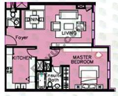 1 Bedroom (Type 2)