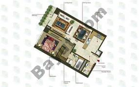 1 Bedroom (Type 1)