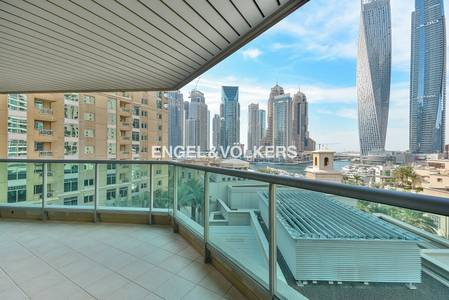 1 Bedroom Apartment for Sale in Dubai Marina, Dubai - Marina View | Vacant | Spacious Balcony.