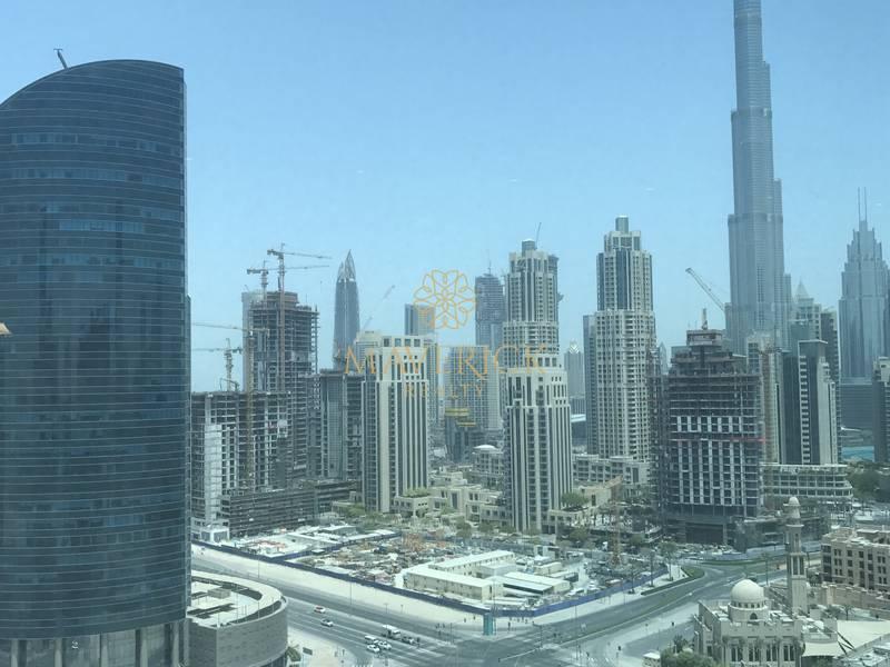Canal + Burj Khalifa View I No Commission