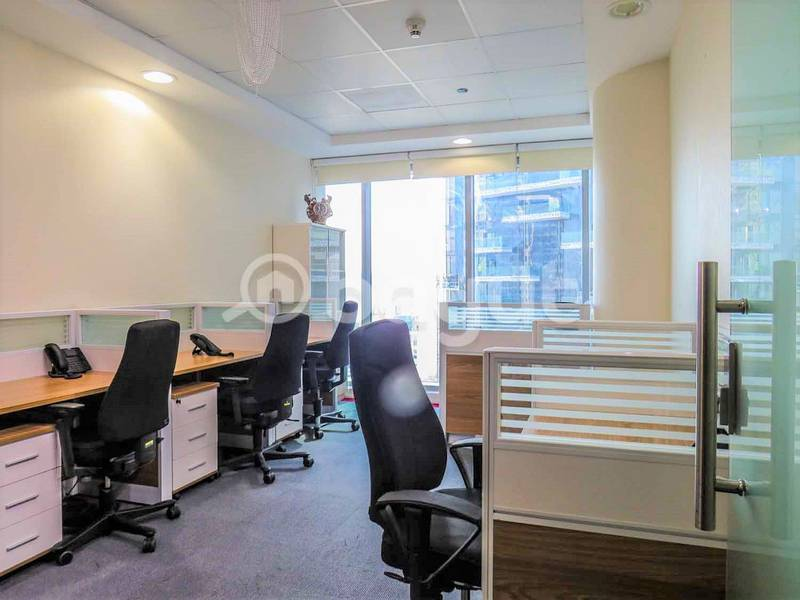 YOU WILL LOVE COMING TO WORK TO THIS MODERN FULLY FITTED OFFICE!