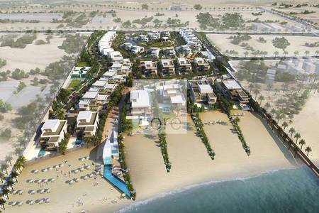 Plot for Sale in Saadiyat Island, Abu Dhabi - Exclusive VIP Plot on the Beach | Saadiyat