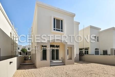 3 Bedroom Villa for Rent in Al Ghadeer, Abu Dhabi - Single  Row|Garden Views|Up to 2 Cheques