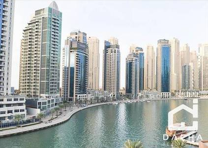 1 Bedroom Apartment for Sale in Dubai Marina, Dubai - Unique spacious 1 br in The Waves B / Marina View