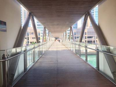 3 Bedroom Flat for Rent in Al Raha Beach, Abu Dhabi - With a view over the canal
