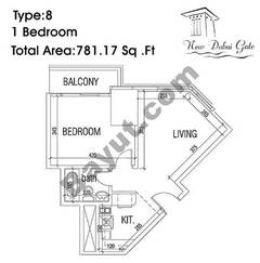 Type 08 1 Bedroom