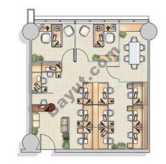 Office Layout (3,6,11,14)